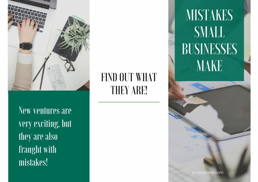 common mistakes small businesses make