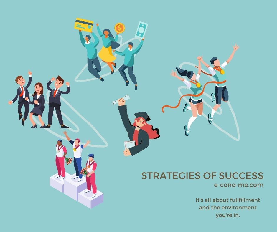 strategies of success in business and life