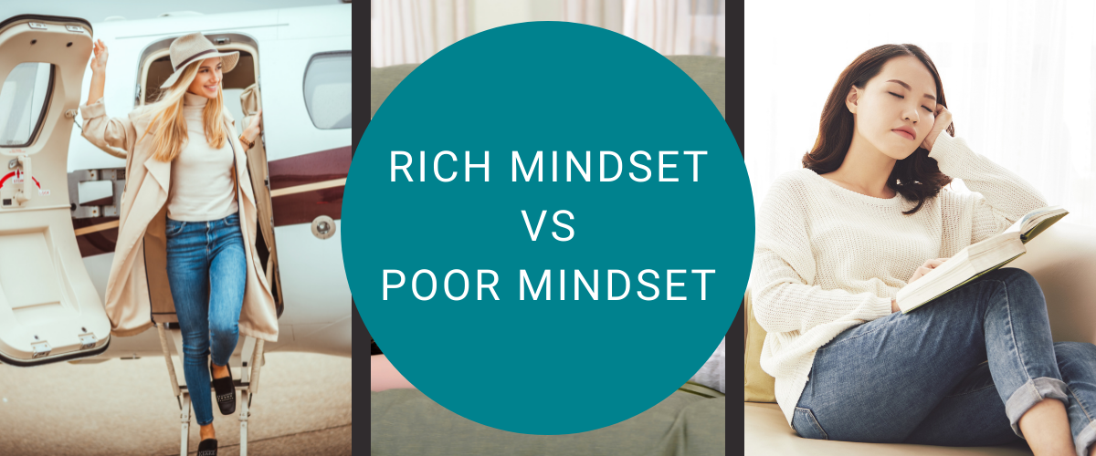 rich mindset vs poor mindset